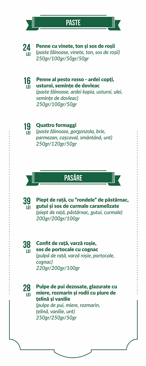 05 food menu decebal paste pasare